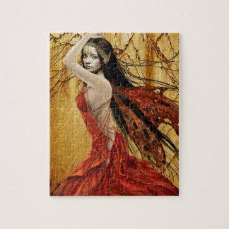 秋の妖精 ジグソーパズル