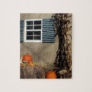 秋の小屋 ジグソーパズル