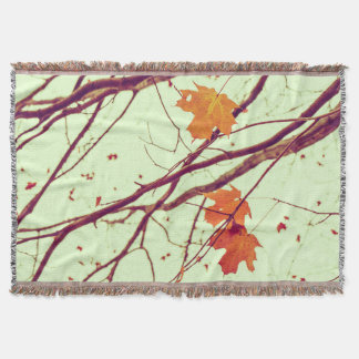 秋の小枝 スローブランケット