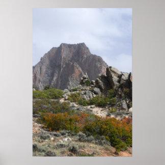 秋の尖塔 ポスター