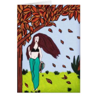 秋の微風 カード