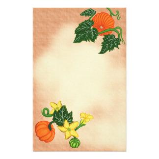 秋の恵みの~PumpkinのPatch~の文房具 便箋