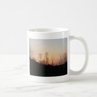 秋の日の出 コーヒーマグカップ