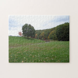 秋の景色のパズル ジグソーパズル