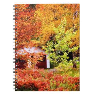 秋の景色 ノートブック