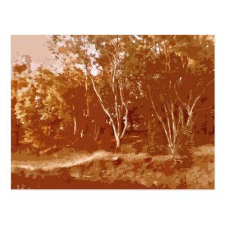 秋の景色 ポストカード