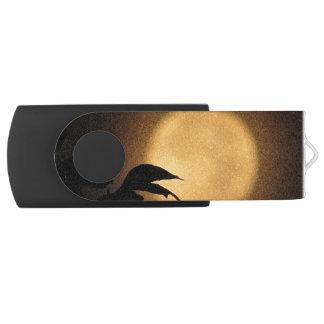 秋の月の旋回装置USB 2.0の抜け目がないドライブ USBフラッシュドライブ