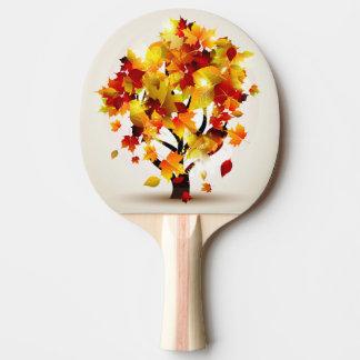 秋の木の卓球ラケット 卓球ラケット