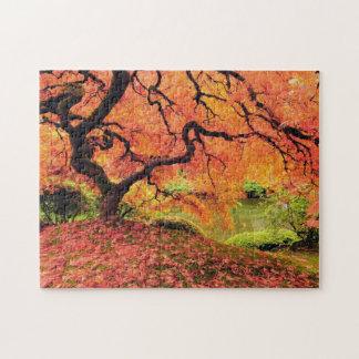 秋の木 ジグソーパズル
