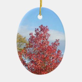 秋の木 セラミックオーナメント