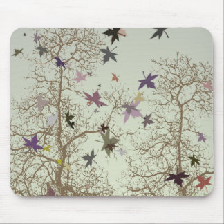 秋の木 マウスパッド
