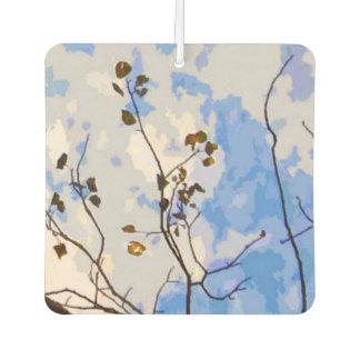 秋の枝抽象的な芳香剤 カーエアーフレッシュナー