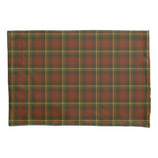 秋の格子縞のカナダの国民のタータンチェックパターン 枕カバー