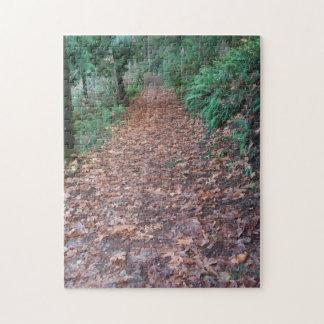 秋の歩行 ジグソーパズル