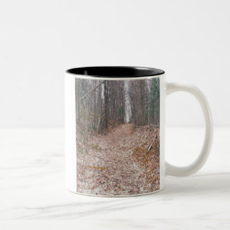 秋の歩行 ツートーンマグカップ