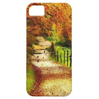 秋の歩行 iPhone SE/5/5s ケース