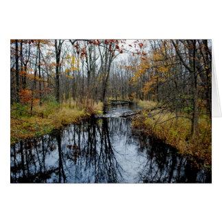 秋の流れ カード
