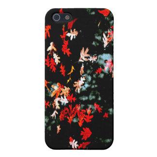 秋の浮遊物の写真のiPhoneの場合 iPhone 5 Case