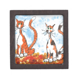 秋の猫 ギフトボックス