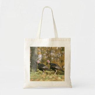 秋の男女のトルコの組の写真 トートバッグ
