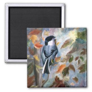 秋の磁石の《鳥》アメリカゴガラ マグネット
