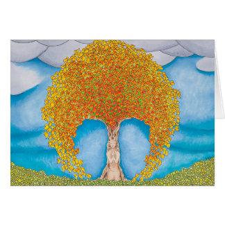 秋の祈りの言葉 グリーティングカード