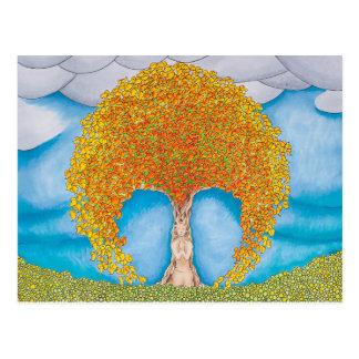 秋の祈りの言葉 ポストカード