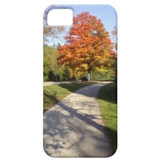 秋の秋公園道 iPhone SE/5/5s ケース