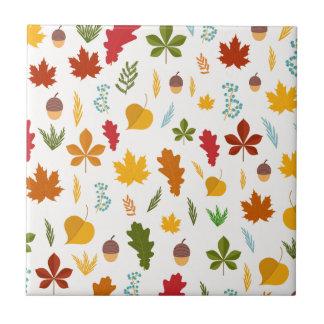 秋の紅葉の季節的なdecoritive thankgiving タイル