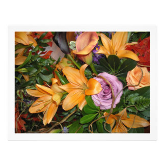 秋の結婚式の花 チラシ