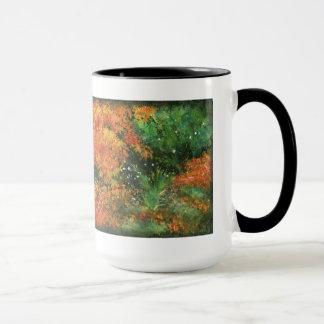 秋の群葉 マグカップ