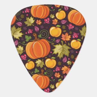 秋の背景 ギターピック