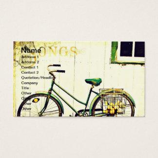 秋の自転車の歌 名刺