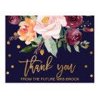 秋の花柄は感謝していしています ポストカード
