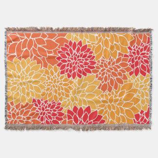 秋の菊 スローブランケット