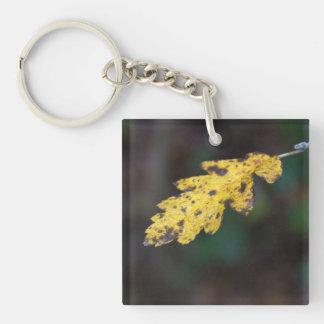 秋の葉 キーホルダー