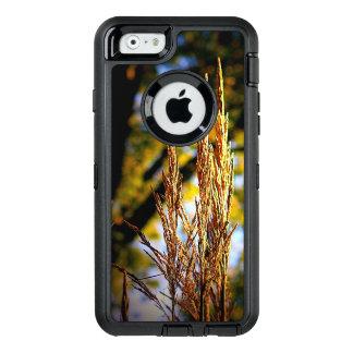 秋の装飾用の草のOtterboxのiPhone 6/6sの場合 オッターボックスディフェンダーiPhoneケース