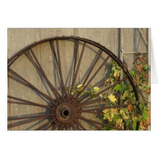 秋の車輪 カード