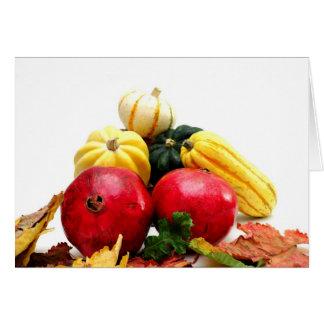 秋の農産物 カード