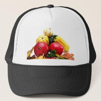 秋の農産物 キャップ