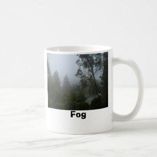 秋の通りの霧 コーヒーマグカップ