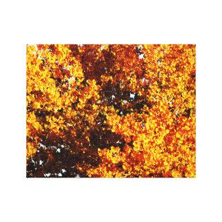 秋の開始 キャンバスプリント