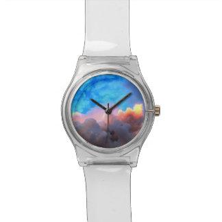 秋の雲 腕時計
