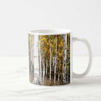 秋の《植物》アスペン コーヒーマグカップ