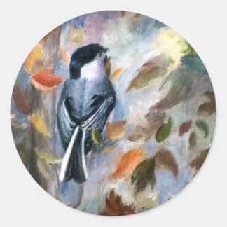 秋の《鳥》アメリカゴガラ ラウンドシール