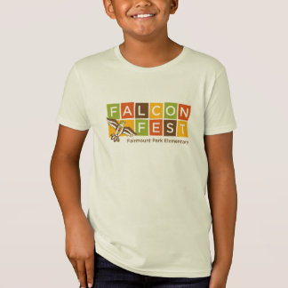 秋の《鳥》ハヤブサのFestの服装 Tシャツ