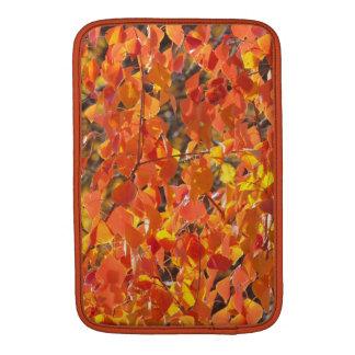 秋のMacBookの袖の中国のな獣脂の木 MacBook スリーブ