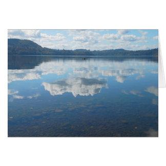 秋のMayfield湖 カード
