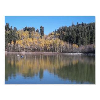 秋のPayson湖 フォトプリント