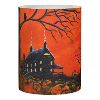 秋またはハロウィンの電池式の蝋燭 LEDキャンドル